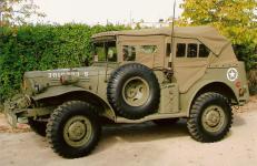 DODGE ¾ WC-57.  AÑO: 1942