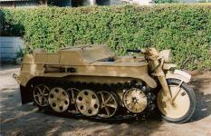 NSU KETTENKRAD  HK-101.  AÑO: 1943